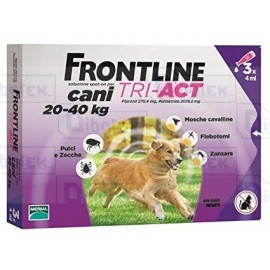Frontline Tri-Act 20-40Kg 3 Pip 4Ml
