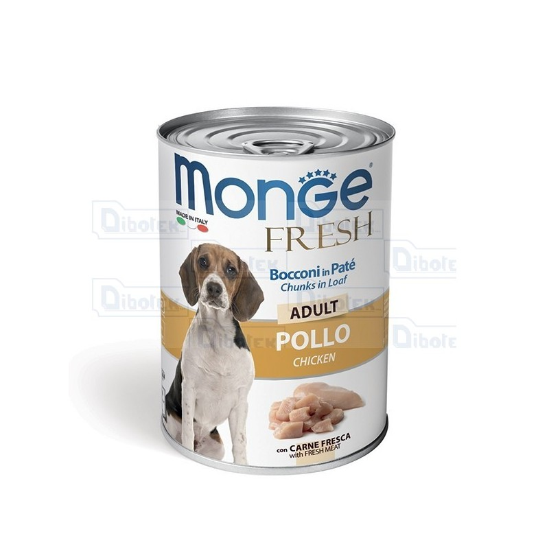 Monge Dog Fresh Adult Pollo Gr.400