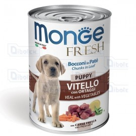 Monge Dog Fresh Puppy Vitello Gr.400
