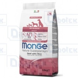 Monge Dog All Breeds Manzo/Riso Kg.2,5