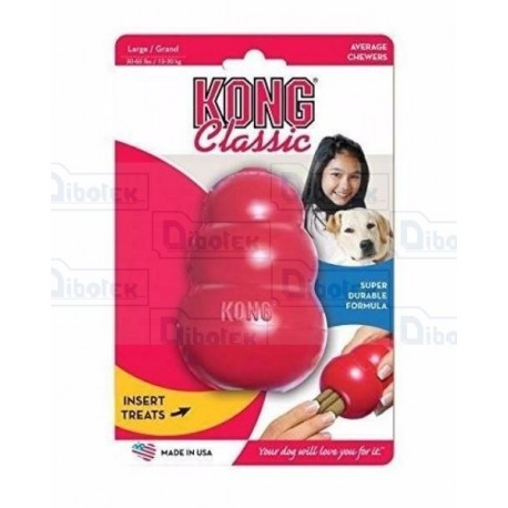 Kong Classic Small Rosso
