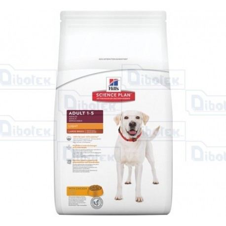 hill's - adult large breed light 12kg