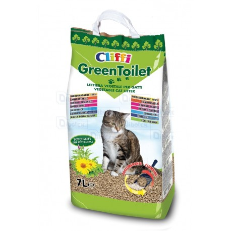 Cliffi - GreenToilet 7 L