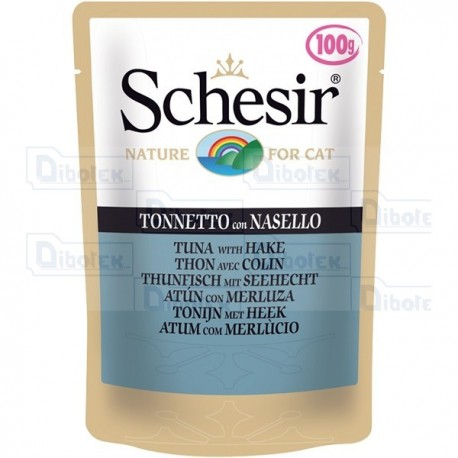 Schesir - Cat Adult Tonnetto con Nasello Jelly Gr.100