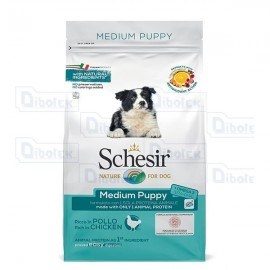 Schesir - Dog Dry Puppy Medium Pollo Kg.3