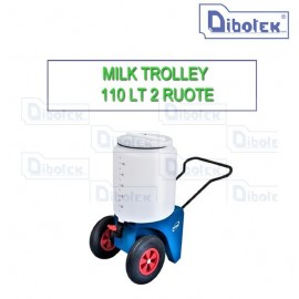 Milk Trolley 2 Ruote Lt.110