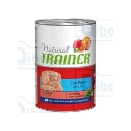 Trainer - natural adult medium pesce & riso 400 gr