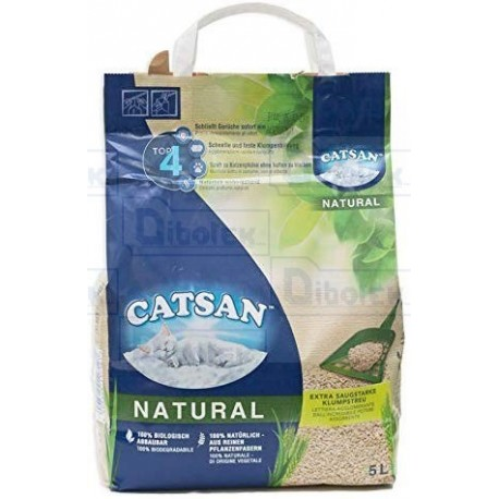 Catsan lettiera lt. 5 natural