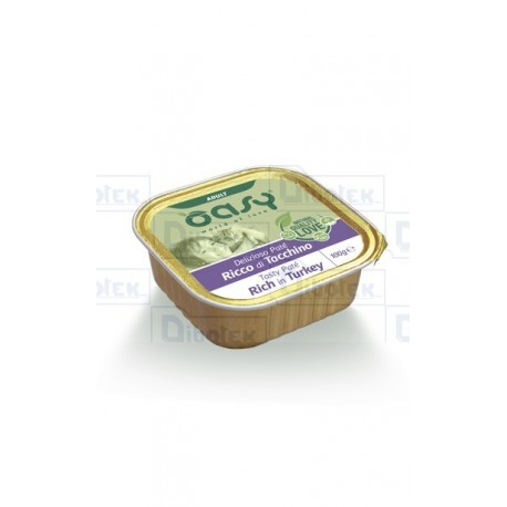 Oasy cat adult patè tacchino 100 gr