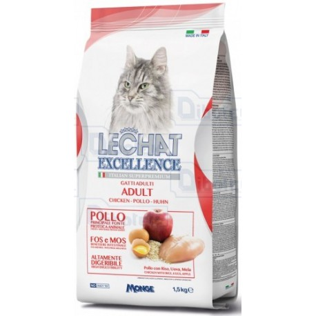 LeChat Excellence - Cat Adult Pollo Gr.400