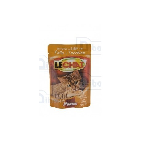 LeChat - Cat Adult Pollo-Tacchino Gr.100