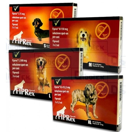 Fiprex - Dog XLarge Mg.412,5  3 Pipette