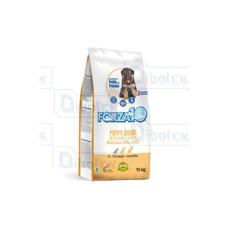 Forza10 - Maintenance Puppy & Junior Medium-Large con Pollo e Patate 15kg