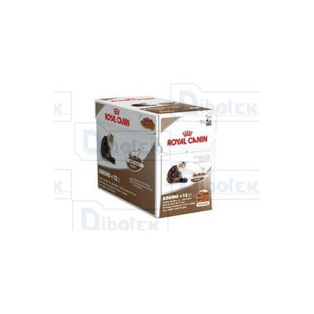 Royal Canin - Ageing 12+ in Jelly - 1 Confezione | 12 Bustine da 85 gr