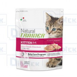 Trainer - Natural kitten con pollo fresco
