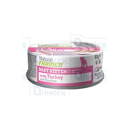 Trainer - Natural Baby Kitten con Tacchino 80gr