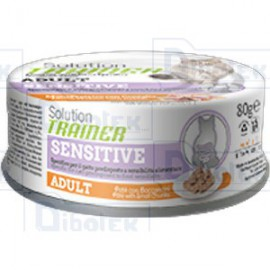 Trainer (Nova Foods) - Solution Adult Sensitive Coniglio Bocconcini in Soft Patè - 1 Lattina 80 gr