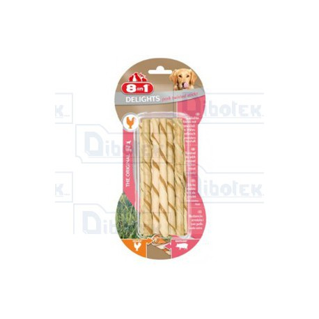 Delights Maiale Twisted Sticks