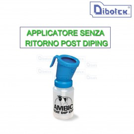 Applicatore senza ritorno per post dipping