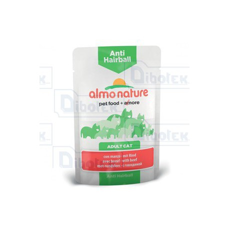 Almo Nature - Anti Hairball con Manzo - 1 Bustina 70 gr