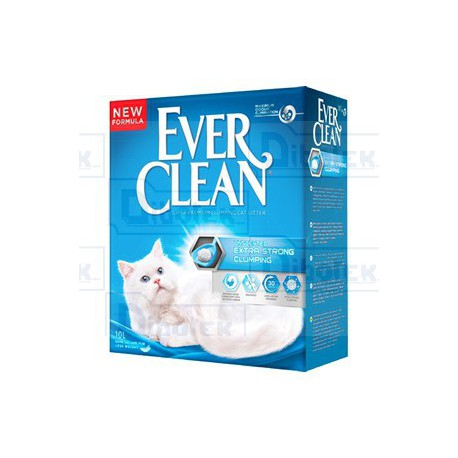 Ever Clean - Extra Strength Unscented New Formula - 1 Lettiera 10 lt