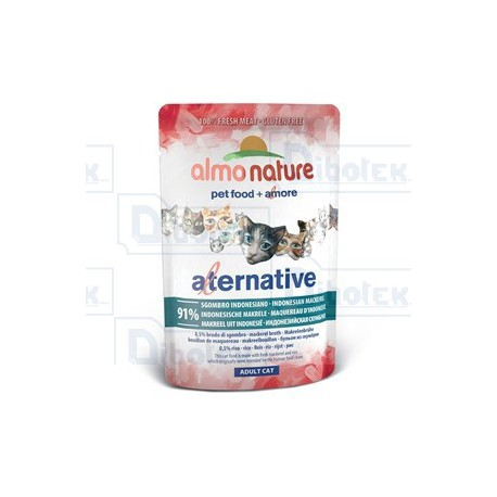 Almo Nature - Alternative Sgombro Indonesiano - 1 Bustina 55 gr