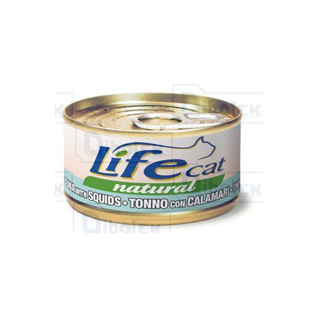 Life  Cat Natural Tonno con Calamari