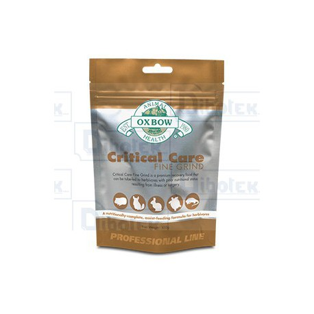 Oxbow Animal Health - Critical Care Fine Grind - 1 Bustina 100 gr