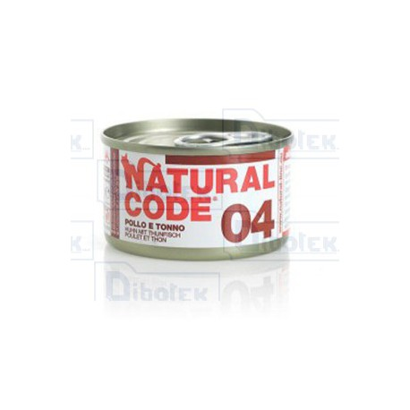 Natural Code - 04 Tonno e Pollo - 1 Lattina 85 gr
