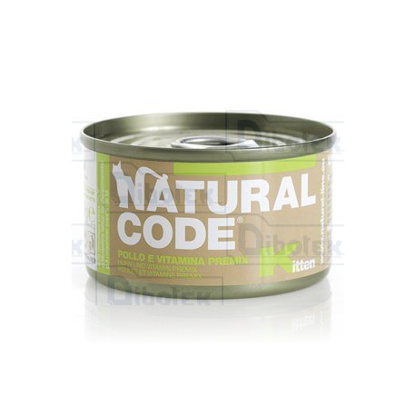 Natural Code - Kitten Pollo 85gr