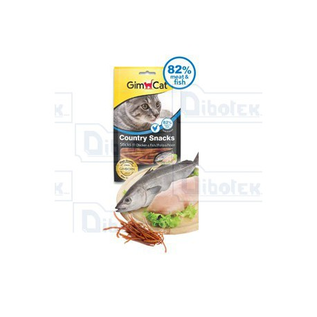 Country Snack con Pollo e Pesce