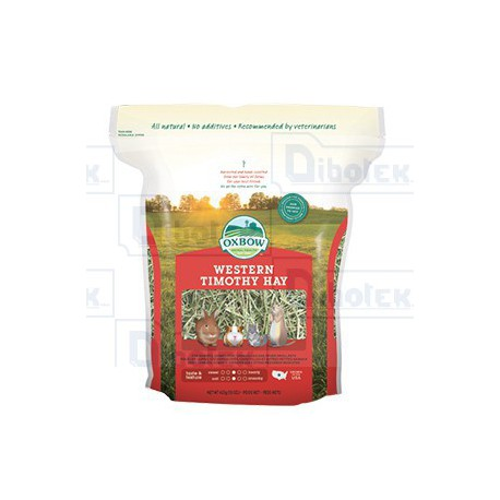 Oxbow Animal Health - Western Timothy Hay - 1 Sacco 1,13 kg