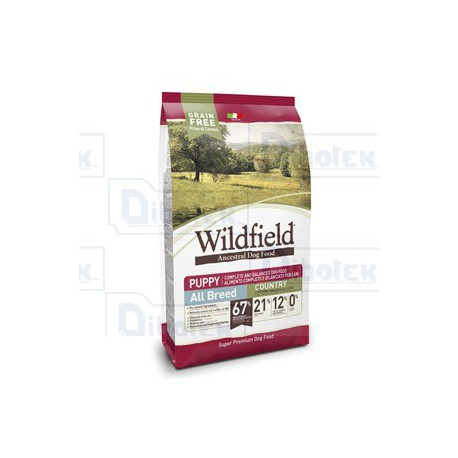 Dorado - WildField Puppy All Breed Country Grain Free 2kg